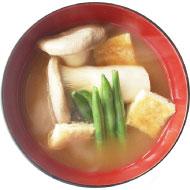 キノコの味噌汁